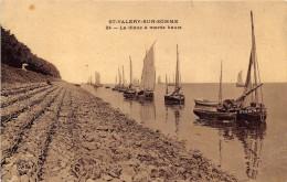 80-SAINT-VALERY-SUR-SOMME- LA DIGUE A MAREE HAUTE - Saint Valery Sur Somme