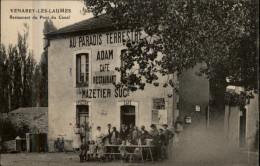 21 - VENAREY-LES-LAUMES - Restaurant Du Pont Du Canal - Venarey Les Laumes