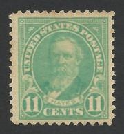 United States, 11 C. 1922, Sc # 563, Mi # 273A, MH. - Etats-Unis