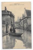 (10574-78) Mantes Sur Seine - Inondations 1910 - Rue De La Pêcherie - Mantes La Jolie