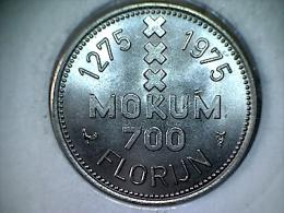 Nederland - Jeton - Mokum 700 Florijn 1275-1975 - Insignia Amstelredami - Netherland