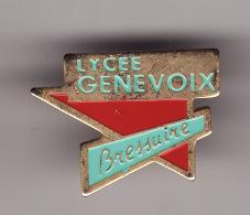 BRESSUIRE -- Lycée GENEVOIX  ( Dép 79 ) - Villes