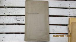 POESIE / LEBEY André / E O. SUR JAPON ( 1/4 ) / CHANSONS GRISES / ENVOI A JEAN De TINAN / 1896. - Auteurs Français