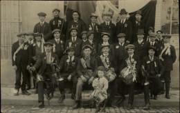 21 - SEMUR - La Classe 1919 - CARTE PHOTO - Conscrits - Semur