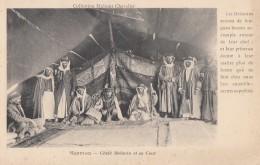 Liban - Lebanon - Syrie - Mont Hermon - Cheik Bédouin Et Sa Cour - 1931
