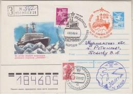 Russia 1989 Atomic Icebreaker R-cover Ca Murmansk (32262) - Poolshepen & Ijsbrekers