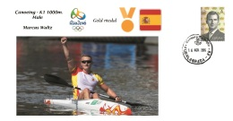Spain 2016 - Olympic Games Rio 2016 - Gold Medal Canoeing Male Spain Cover - Juegos Olímpicos