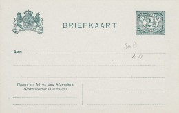 Pays Bas - Entiers Postaux - Postal Stationery