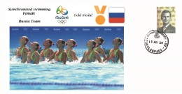 Spain 2016 - Olympic Games Rio 2016 - Gold Medal Symchronized Female Russia Cover - Juegos Olímpicos