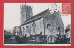 Carrisbrooke  --  St Mary Church - Angleterre