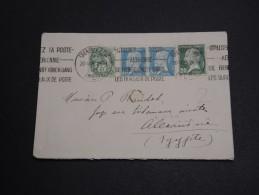FRANCE - Enveloppe De Grenoble Pour Alexandrie En 1926 , Affranchissement 2 émissions - A Voir - L 2882 - Marcophilie (Lettres)