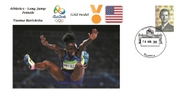 Spain 2016 - Olympic Games Rio 2016 - Gold Medal Long Jump Female USA Cover - Juegos Olímpicos
