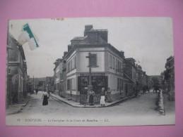 """CPA  Louviers       """" Le Carrefour De La Croix De Beaulieu   """" - Louviers"""