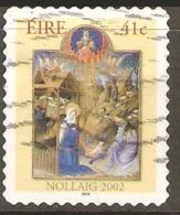 Ireland 2002 SG 1563 Christmas Self Adhesive Fine Used - 1949-... Repubblica D'Irlanda