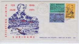 Surinam STICHTING ALBINA FDC 1971 - Surinam