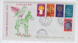 Surinam RELIGION FDC 1972 - Surinam