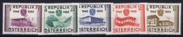 Osterreich Austria: Mi  1012 - 1016 MNH/** Postfrisch
