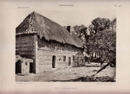 1927 - Héliogravure - Saint-Jouin-Bruneval (Seine-Maritime) - Une Ferme -  FRANCO DE PORT - Sin Clasificación