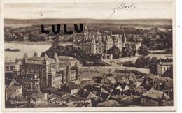ALLEMAGNE : 2 Scans : Schwerin Mecklbg Schloss Panorama - Schwerin