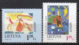 Lituanie - Lietuva - 1997 - Yvert N° 556 & 557 **  - Europa - Lithuania