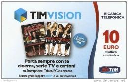 *ITALIA - TIM: TIM VISION (Tvic-10-S)* - Ricarica Usata - [2] Tarjetas Móviles, Prepagadas & Recargos