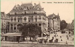 GENEVE. Place Bel-Air - GE Ginevra