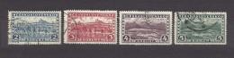 Czechoslovakia Tschechoslowakei 1927 Gest. Mi 263-266 Sc 137-140 Hradcany At Prague And Great Tatra. Prag Und H.Tatra C1 - Used Stamps