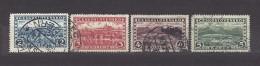 Czechoslovakia Tschechoslowakei 1927 Gest. Mi 263-266 Sc 137-140 Hradcany At Prague And Great Tatra. Prag Und H.Tatra C2 - Used Stamps