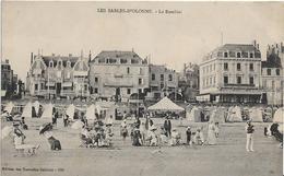 Vendée LES SABLES D' OLONNE Le Remblai Belle Animation  .....G - Sables D'Olonne