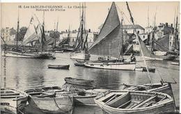 Vendée LES SABLES D' OLONNE La Chaume Bateaux De Mer Beau Plan  .....G - Sables D'Olonne