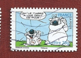 """N° 3955 Carnet Sourires - Cubitus -""""Oh ! Le Timbre A Une Dent De Plus ! """"   Oblitéré France 2006 - France"""