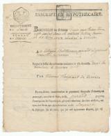 604/24 - VERVIERS - Papier Fiscal 1807 Signé Damseaux - Acte Pirard / Loupart De 1782 Devant Le Notaire Detrooz - 1794-1814 (French Period)