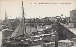 Vendée LES SABLES D' OLONNE Lle Port De Pêche  Beau Plan   .....G - Sables D'Olonne