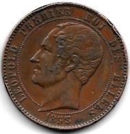 Medialle 1853  Mariage Leopold  Premier - Médailles