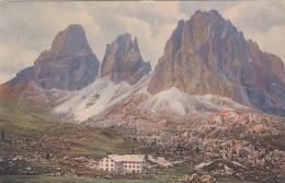8233-SELLAHAUS MIT LANGKOFEL-S.CRISTINA VALGARDENA-1923-FP - Bolzano (Bozen)