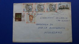 Bosnia And Herzegovina RARE Cover From Republic Of Srpska To Netherlands With Bosnia Croatian Republic Stamps - Bosnia And Herzegovina