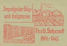 Meter Cut Germany 1952 Wood Factory - Impregnation - Fábricas Y Industrias