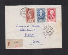 Lettre Melun 1949 - Poststempel (Briefe)
