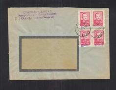 Poland Cover Groszy Overprints Lodz - 1944-.... Republic