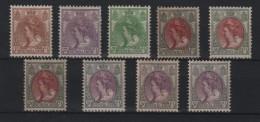 PAYS - BAS : 9 EX * . 1898/23 . B . - Unused Stamps