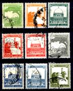 Palestina-0085 - 1927-45: Valori Della Serie Yvert & Tellier N. 63-81 (o) Used - Privo Di Difetti Occulti. - Palestine