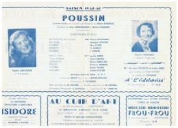 CONSTANTINE    POUSSIN   SAISON   1957 1958 - Théatre & Déguisements