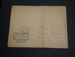 SAINT PIERRE ET MIQUELON - Enveloppe En PP 0.30  Pour Paris En 1926 - A Voir - L 2895 - Lettres & Documents