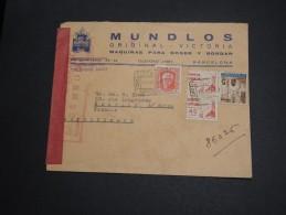 ESPAGNE - Enveloppe Commerciale De Barcelone Pour La France En 1937 Avec Censure - A Voir - L 2897 - Republikanische Zensur