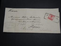 CUBA - Lettre Pour La France Et Redirigée En Suisse En 1908 - A Voir - L 2898 - Briefe U. Dokumente