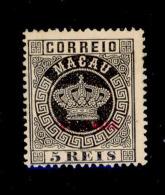 ! ! Timor - 1886 Crown 5 R (Perf. 13 1/2) - Af. 01 - MH - Timor