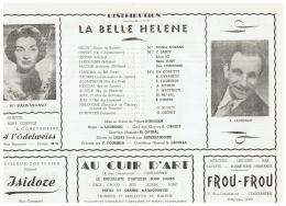 CONSTANTINE    LA  BELLE  HELENE - Théatre & Déguisements
