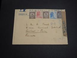 ESPAGNE - Enveloppe Pour La France En 1938 Avec Censure - A Voir - L 2899 - Republikanische Zensur