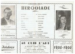 CONSTANTINE    HERODIADE - Théatre & Déguisements