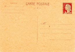 M. De Decaris  - Entier Postal (N° 1263-CP1) Carton Chamois Foncé (1965) - 1960 Marianne (Decaris)